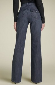 NYDJ tummy tuck jeans in raw denim
