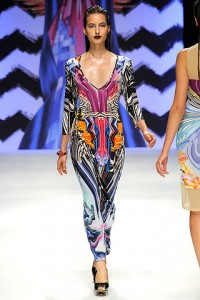 Patterned print jumpsuit by Basso and Brooke