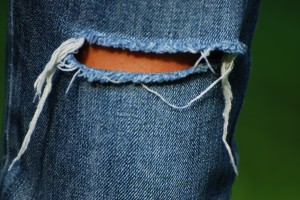 Ripped jeans fashion trend Spring / Summer 2010