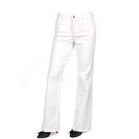 White tummy tuck jeans are in line with fashion trends right now
